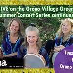inanna live concert on orono village green 7/16 6pm